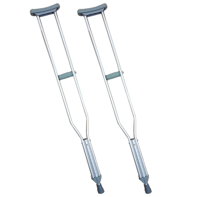 Muleta Aluminio Regulable (x2 unidades) Carequip