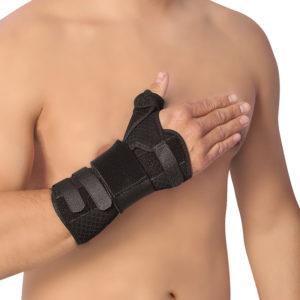 Inmovilizador de dedo pulgar y muñeca Body Care